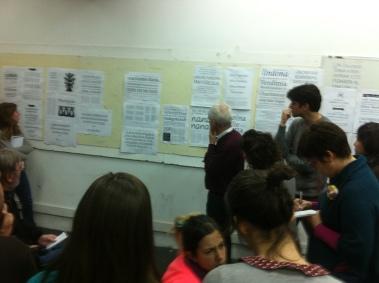 Discutindo os projetos